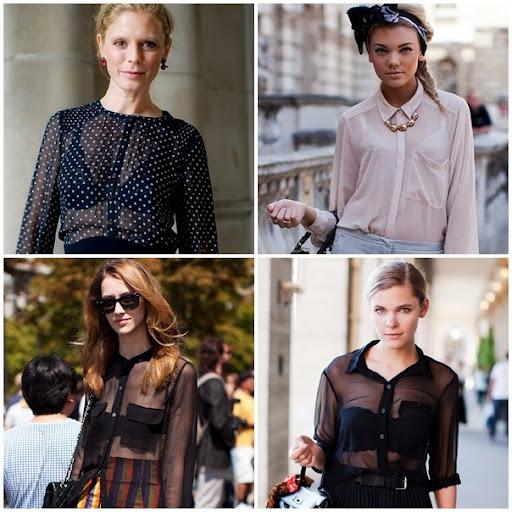 386e4c4eb As roupas com transparência estão em todos os lugares em 2012, foram  apostas das passarelas e acolhidas pelo público feminino em peso.